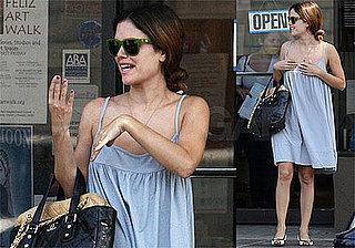 Photos of Rachel Bilson Shopping with Her Mom