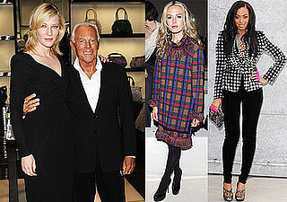 Photos of Cate Blanchett, Rachel Zoe, Solange Knowles at Milan Fashion Week