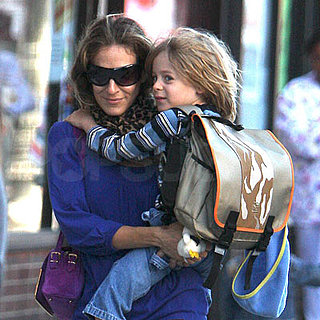 Sarah Jessica Parker and James Wilkie Broderick Out in NYC 2008-09-23 15:38:34