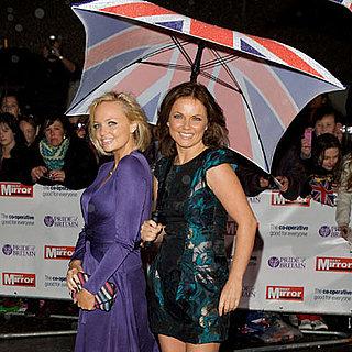 Geri Halliwell and Emma Bunton at the Pride of Britain Awards