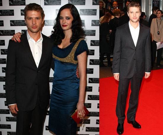 Photos of Ryan Phillippe and Eva Green at the Premiere of Franklyn at the London Film Festival