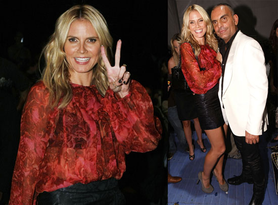 Photos of Heidi Klum at LA Fashion Week and a Review of the Project Runway Finale