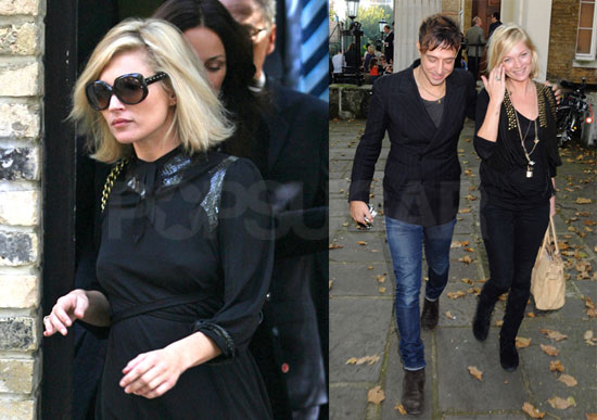 Photos of Kate Moss and Jamie Hince Back Together in London
