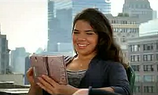 America Ferrera Gets Brainy With Her Pimped-Out DS