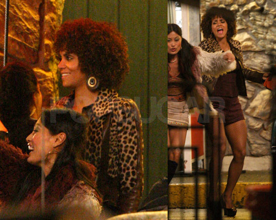 Photos of Halle Berry on Set of Frankie and Alice in Vancouver, Canada