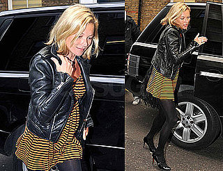 Photos of Kate Moss — Whose Eighth Collection For Topshop Is Out — in London