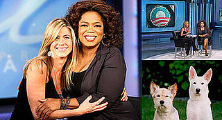 Quotes and Photos of Jennifer Aniston on Oprah 11/13/2008