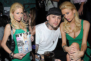Photos of Paris Hilton and Benji Madden at Foxtail Lounge, Will Star with Pee Wee Herman and Allison Janney in New Movie