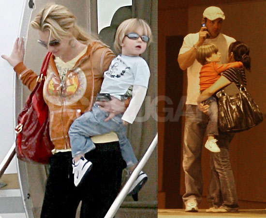 Photos of Britney Spears, Sean Preston Spears Federline, Jayden James Spears Federline, Lynne Spears, Jamie Spears in Kentwood