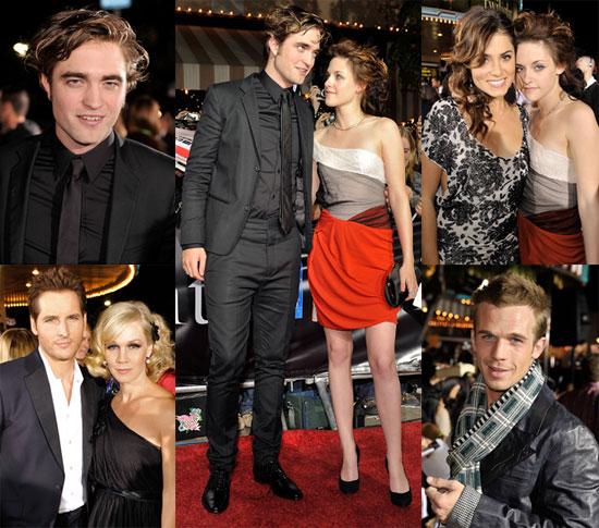 Red Carpet Photos from Twilight Premiere, Robert Pattinson, Kristen Stewart, Cam Gigandet