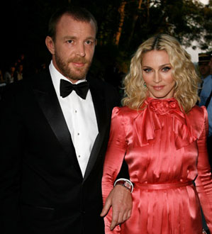 Photo of Madonna and Guy Ritchie, Who Received a Preliminary Divorce Today