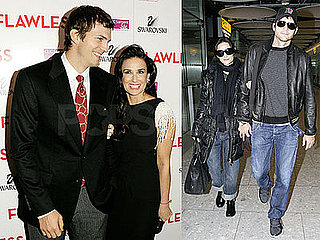 Photos of Demi Moore and Ashton Kutcher in London, Quotes from Demi Moore Interview About Flawless