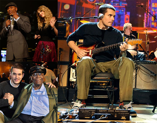 Photos of John Mayer, Taylor Swift, LL Cool J at Grammy Nominations Concert Live Rehearsal in LA
