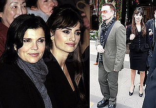 Photos of Bono and Penelope Cruz at the Nobel Peace Prize World Summit in Paris