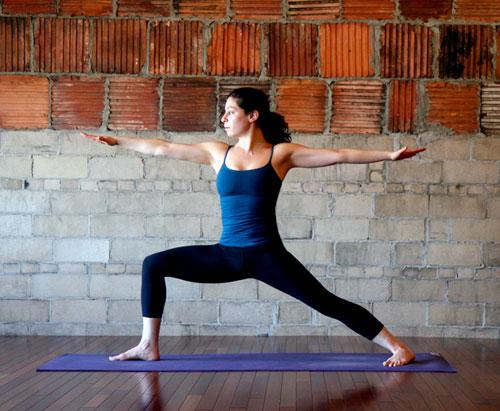 Strike a Yoga Pose: Warrior 2