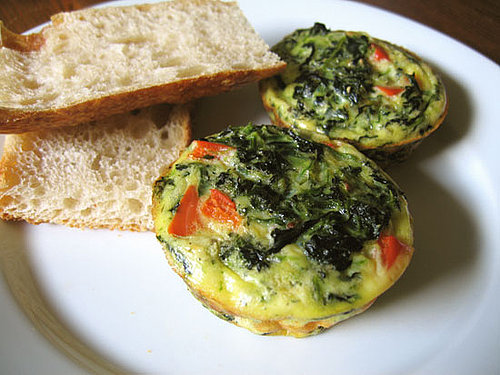 Healthy Breakfast: Mini Veggie Frittata