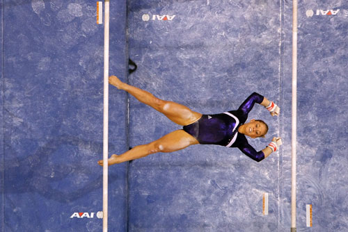 Uneven Bars<br /> 2008 U.S. Olympic Team Trials<br />