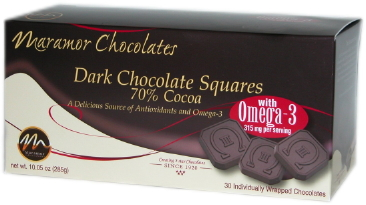 Maramor Dark Chocolate With Omega-3s: Try It or Pass It By?