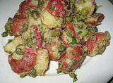 Potato Salad With Cornichon and Capers