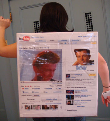 Halloween How To: The Rick Roll