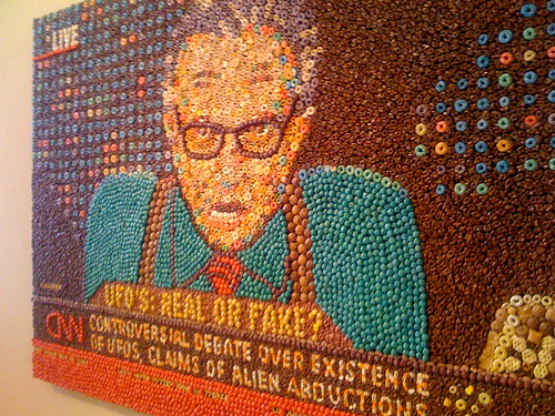 Larry King in the Key of Fruity Pebbles