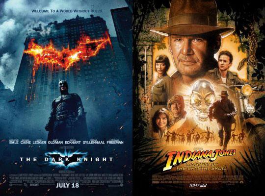 New Trailers: Dark Knight and Indiana Jones 4