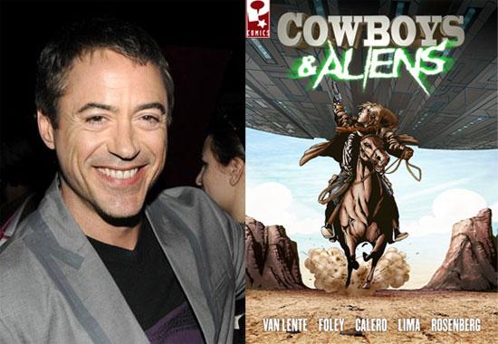 Robert Downey Jr. in Cowboys and Aliens