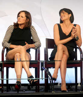 Selma Blair Hones Her Comedy Skills at TCA