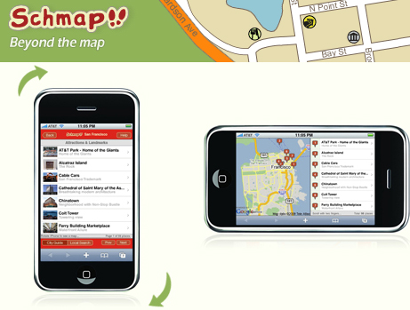 Website of the Day: Schmap For the iPhone and iPod Touch