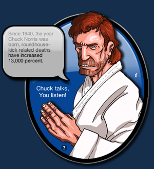 Chuck Norris Widget Will Roundhouse Kick All Other Widgets