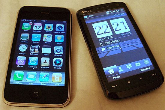 Daily Tech: The HTC Touch HD vs. the iPhone 3G