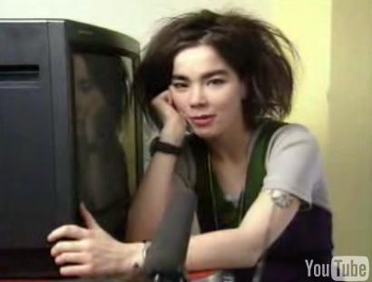 Björk Talking TVs