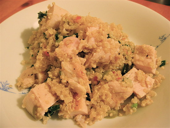 Simple and Quick Meal: Mediterranean Chicken Quinoa