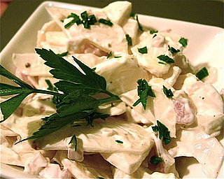 A Different Salad: Turnips in Sour Cream