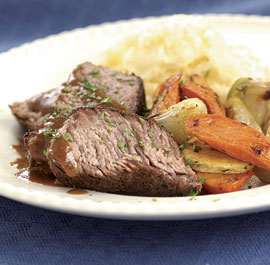 Sunday Slow Cooker: Pot Roast With Horseradish Gravy