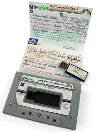 "USB Made For Mixed ""Tapes"""