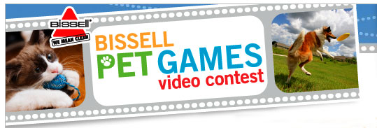 Bissell Video Contest for Pets