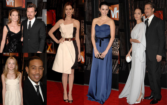 Red Carpet Photos 2009 Critics' Choice Awards With Angelina Jolie, Brad Pitt, Penelope Cruz, Dakota Fanning and More