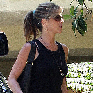 Photo of Jennifer Aniston and Her Dogs