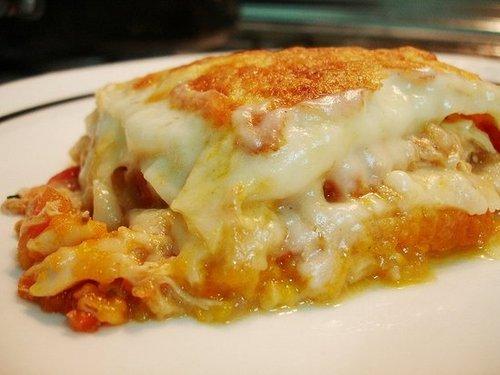 Chicken and Butternut Squash Lasagne