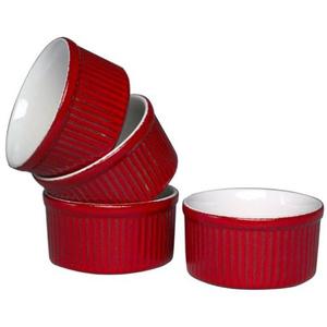 Red Baking Ramekins