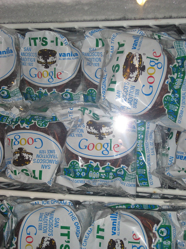Want dessert? How about a Google branded It's-It?