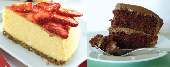 Would You Rather Eat Cheesecake or Chocolate Cake?