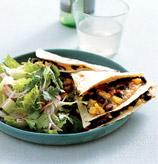 Fast & Easy Dinner: Kitchen-Sink Quesadillas