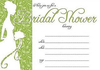 Come Party With Me: Bridal Shower — Invite