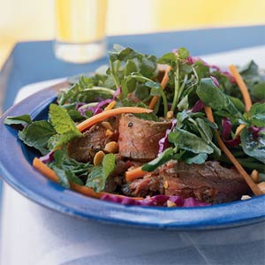 Fast & Easy Dinner: Thai Steak Salad