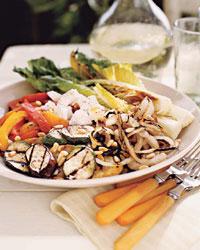 Sunday BBQ: Grilled Vegetable Salad