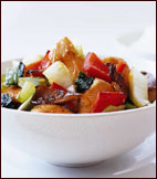 Fast & Easy Dinner: Ginger-Sesame Chicken with Bok Choy and Mushrooms