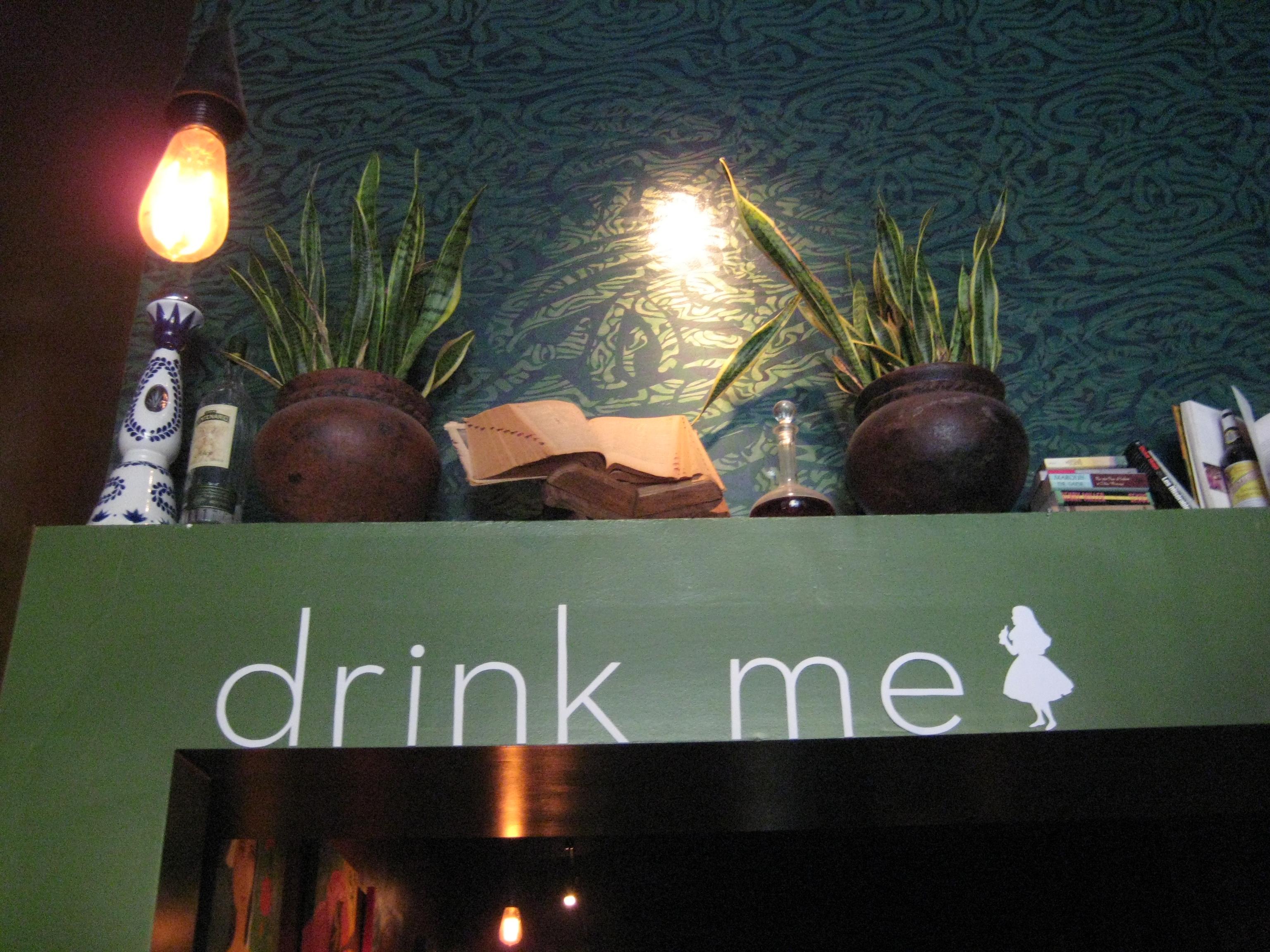 Drink me.