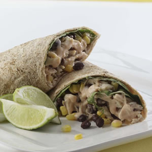 Fast & Easy Dinner: Barbecued Chicken Burritos
